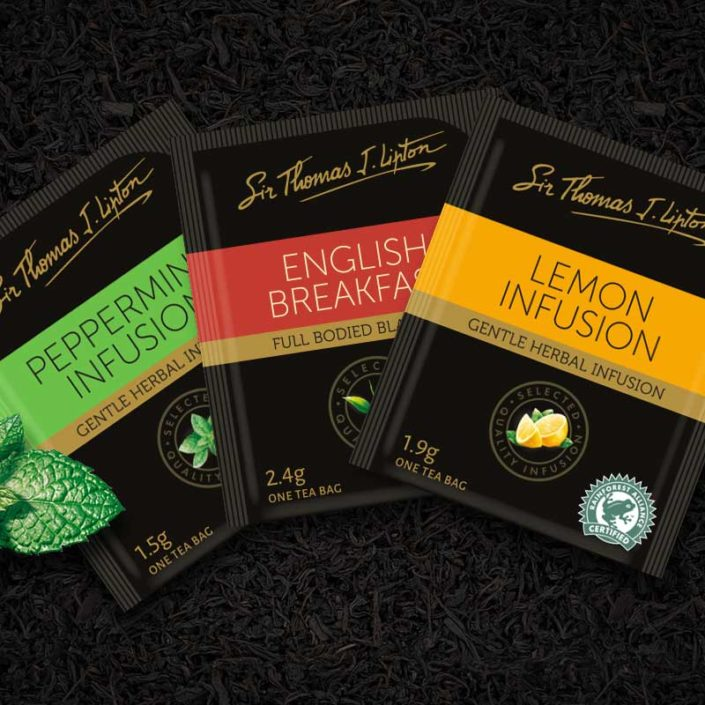 The refreshed design was rolled-out across multiple pack executions for the nine SKUs; Earl Grey, English Breakfast, Decaffeinated Black Tea, Green Tea, ...